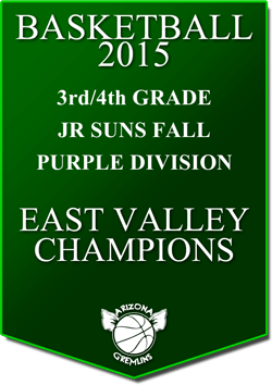 banner 2015 JR SUNS CHAMPS FALL EV PURPLE