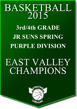 banner 2015 JR SUNS CHAMPS SPRING EV PURPLE