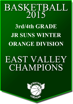 banner 2015 JR SUNS CHAMPS WINTER EV ORANGE