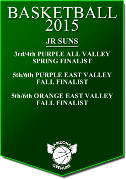 banner 2015 JR SUNS LEAGUE