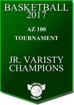 banner 2017 TOURNEYS CHAMPS AZ100 JV