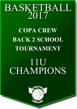 banner 2017 TOURNEYS CHAMPS COPACREW 11U