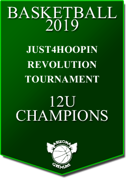 banner 2019 TOURNEYS CHAMPS Revolution 12U