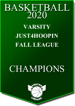 banner 2020 LEAGUE Champs varsity fall