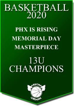 banner 2020 TOURNEYS CHAMPS MEMORIAL 13U