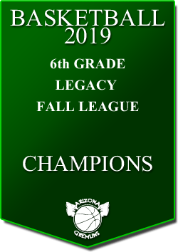 banner 2019 LEAGUE Champs 6th fall legacy